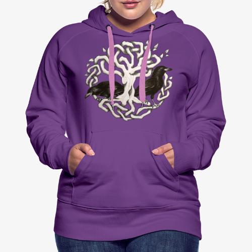Terredizeaux - Sweat-shirt à capuche Premium pour femmes