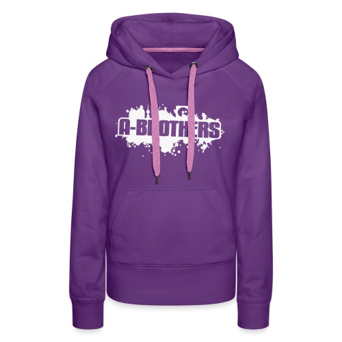 A Brothers Vector Design - Women's Premium Hoodie