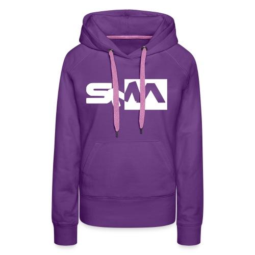 logocoeur - Sweat-shirt à capuche Premium pour femmes