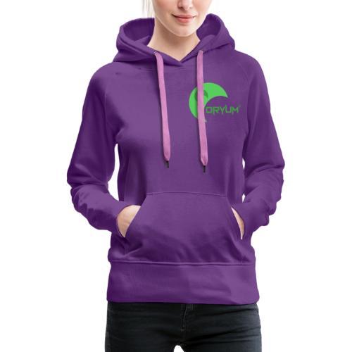 Design Collection Oryum - Sweat-shirt à capuche Premium pour femmes