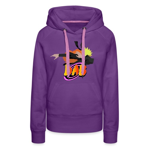 Dabbin on them H*** - Vrouwen Premium hoodie