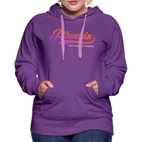 Phoenix Retro Color - Frauen Premium Hoodie