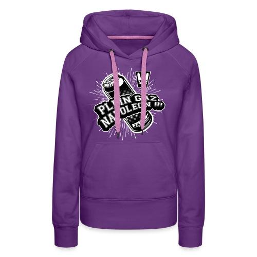 PLEIN GAZ NAPOLEON couleur - Sweat-shirt à capuche Premium pour femmes