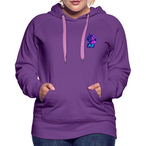 AZ GAMING LOGO - Women's Premium Hoodie