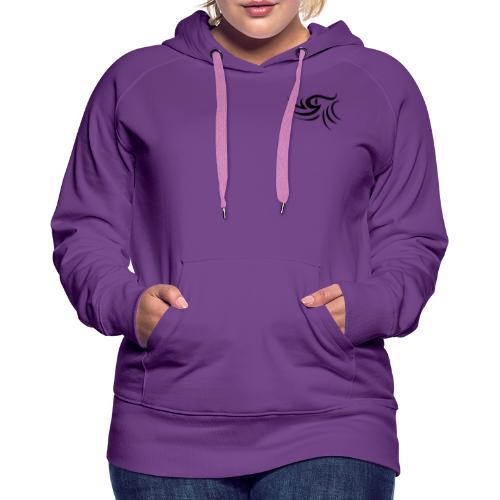 Oeil - Sweat-shirt à capuche Premium pour femmes