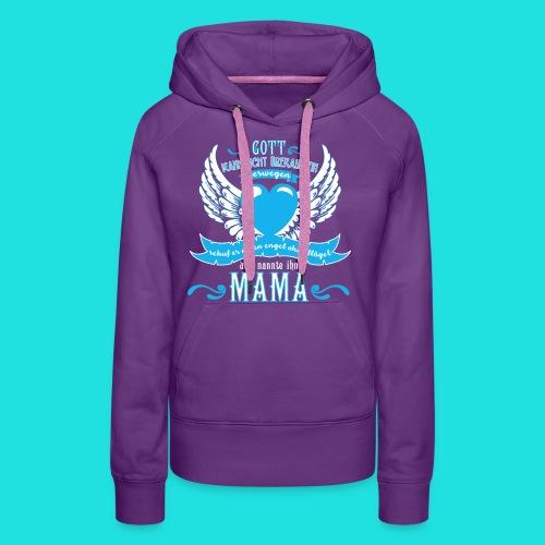 Mama Engel - Frauen Premium Hoodie