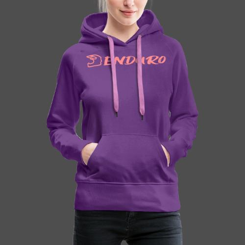 Enduro - Bluza damska Premium z kapturem