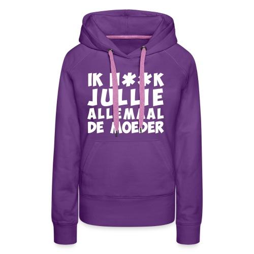 002 - Vrouwen Premium hoodie