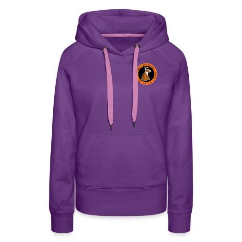 logo tel copie png - Sweat-shirt à capuche Premium pour femmes