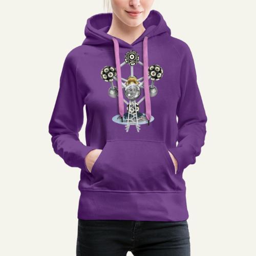 TEUFATOMIX - Sweat-shirt à capuche Premium pour femmes