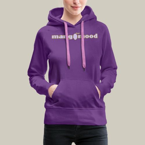 mangomood Kapuzenpulli - Frauen Premium Hoodie