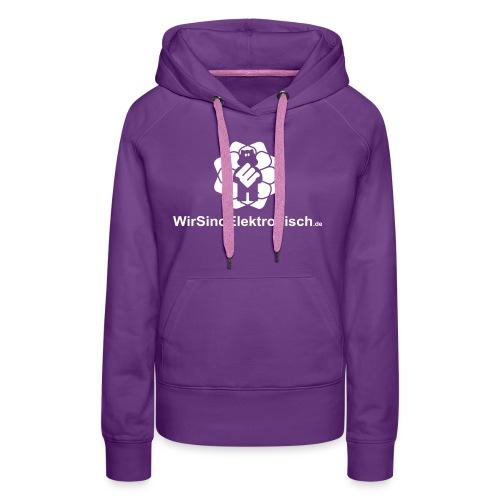 UrlMitGroßemLogo - Frauen Premium Hoodie