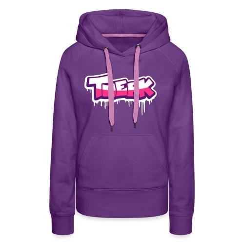 Twerk graff - Sweat-shirt à capuche Premium pour femmes