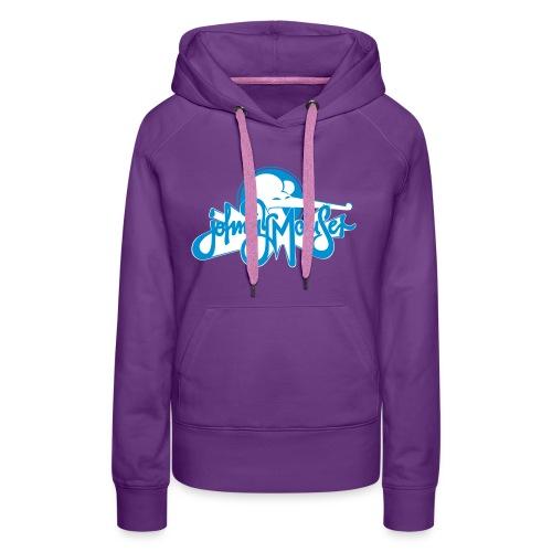 johnny mauserblau - Frauen Premium Hoodie