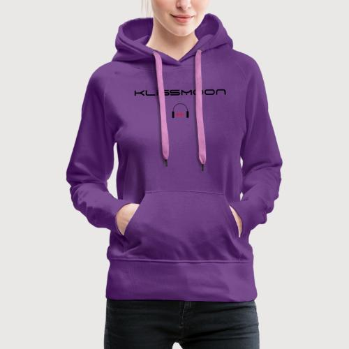 Klissmoon Logo black - Women's Premium Hoodie