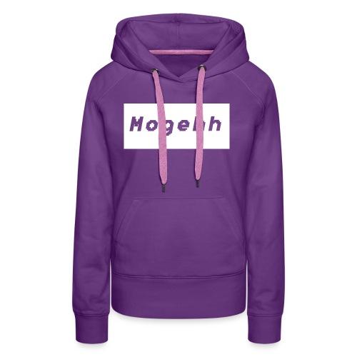 Shirt logo 2 - Women's Premium Hoodie