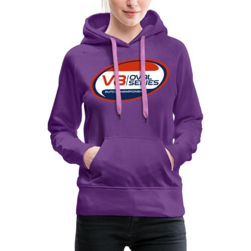 V8 Oval Series - Vrouwen Premium hoodie