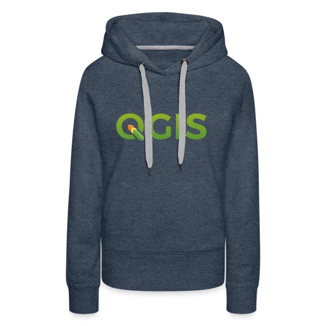 QGIS text logo