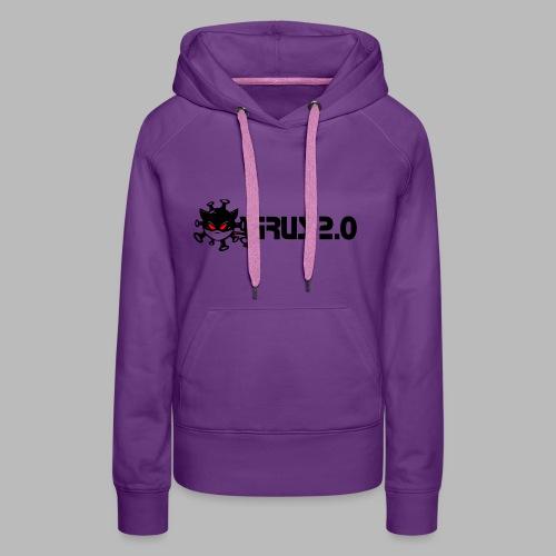 VIRUS 2.0 - Sweat-shirt à capuche Premium pour femmes