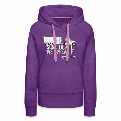 SOME TALK IT SLURRY - Women's Premium Hoodie