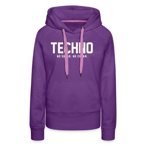 Dark Techno - Women's Premium Hoodie