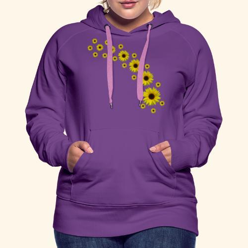 Sonnenblumen, Sonnenblume, Blumen - Frauen Premium Hoodie