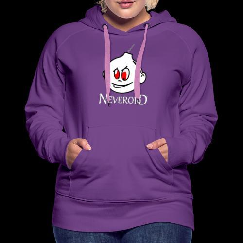 tete neverold - Sweat-shirt à capuche Premium pour femmes