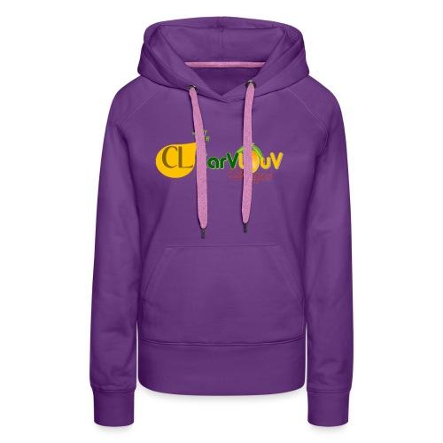 CarVlouV - Sudadera con capucha premium para mujer