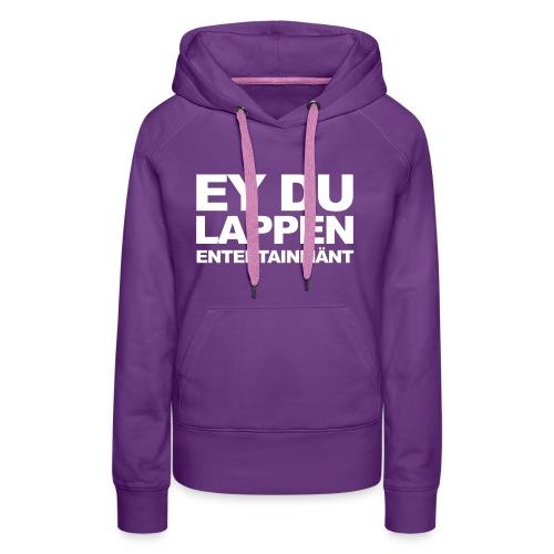 Standart EDL logo schwarz - Frauen Premium Hoodie