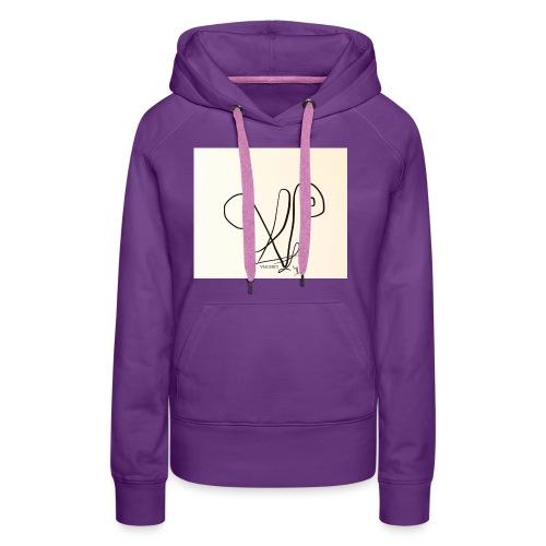 Vialenci symbol Design by Nadine vial - Frauen Premium Hoodie