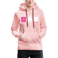 IMB Logo - Women's Premium Hoodie crystal pink