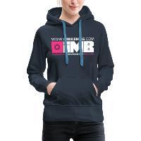 IMB Logo - Women's Premium Hoodie - navy