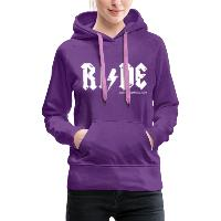 RIDE - Women's Premium Hoodie - purple