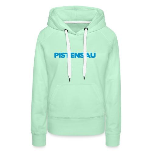 Ski Shirt Pistensau - Frauen Premium Hoodie