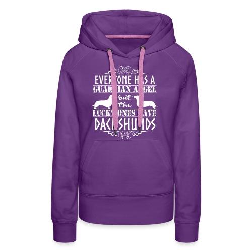 Dachshund WH SH Angels2 - Women's Premium Hoodie