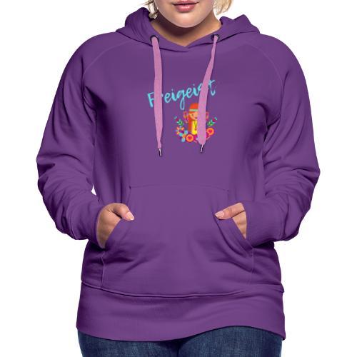 Freigeist - Frauen Premium Hoodie