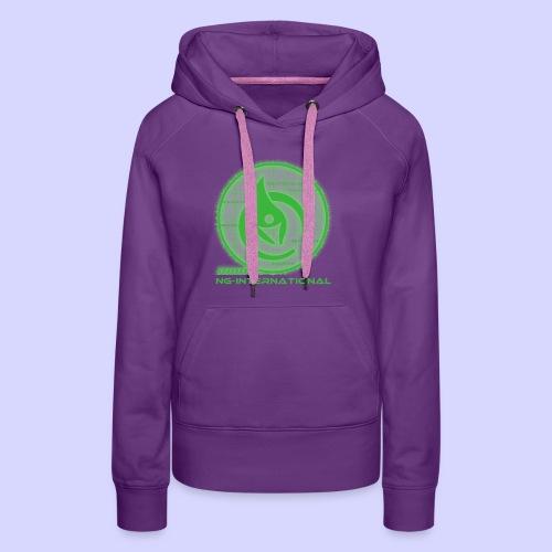 NGlogoX3grün - Frauen Premium Hoodie