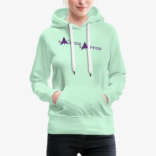arrow arrow patjila - Women's Premium Hoodie