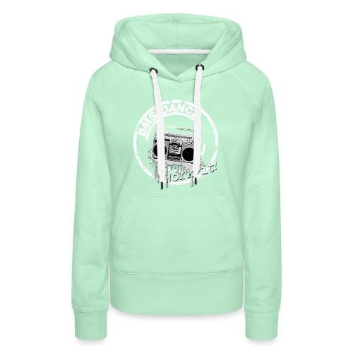 BMS Dance grey - Vrouwen Premium hoodie