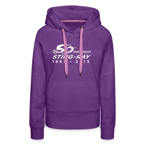 styingray50a - Sweat-shirt à capuche Premium pour femmes