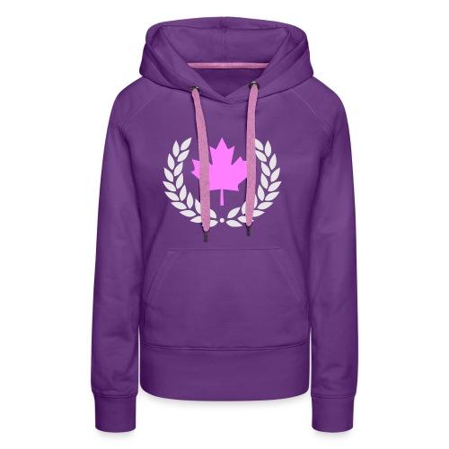 Canada Pink - Frauen Premium Hoodie