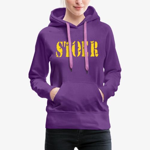 stoer tshirt design patjila - Women's Premium Hoodie