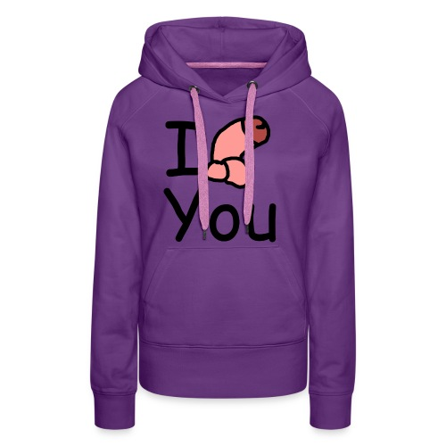 I dong you pack - Women's Premium Hoodie