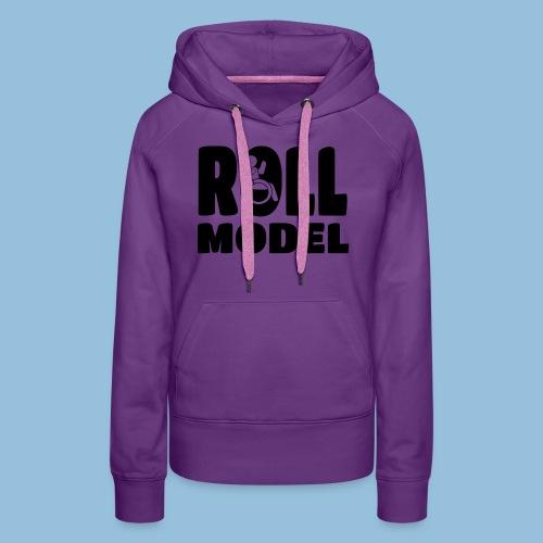 Roll model 016 - Vrouwen Premium hoodie