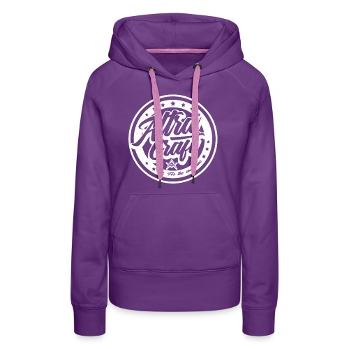 AltraCraft - For the awesome (White Logo) - Women's Premium Hoodie