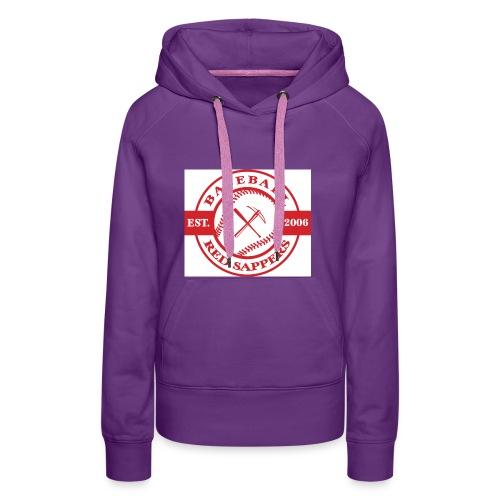 logo weiss - Women's Premium Hoodie