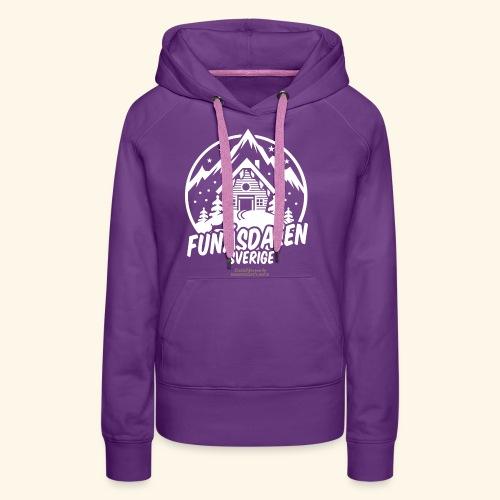 Funäsdalen Sverige Ski Resort T Shirt Design - Frauen Premium Hoodie