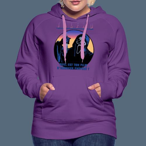 Collection Sandy.M 2021/2022 (Scream) - Sweat-shirt à capuche Premium pour femmes