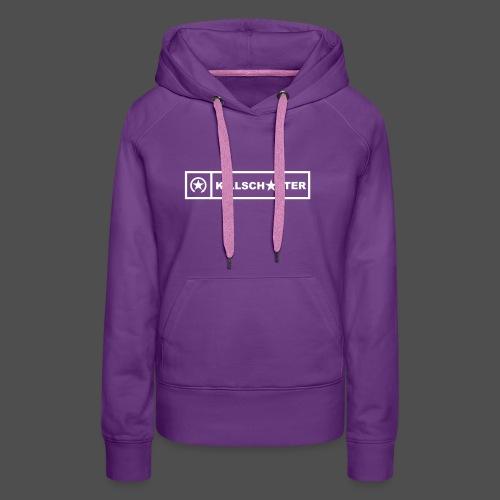 KILLSCHALTER Logo Brand 0KS01 - Frauen Premium Hoodie