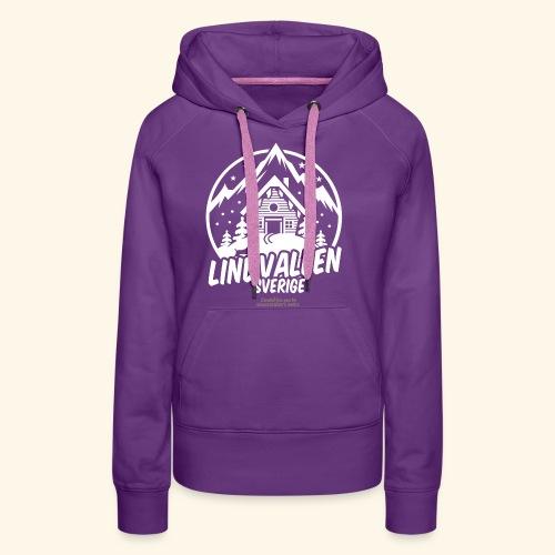 Lindvallen Sälen Sverige Ski Resort T Shirt Design - Frauen Premium Hoodie